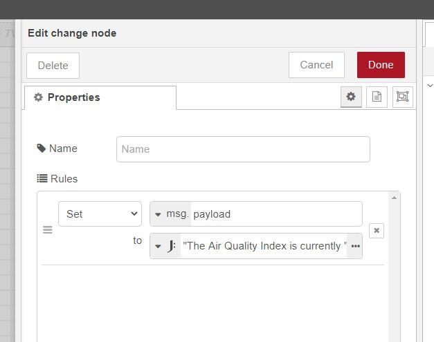 AQI change node