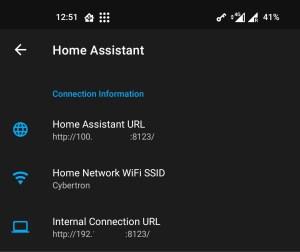 Home-Assistant App Configuration