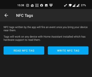 Mobile App Read / Write Tag