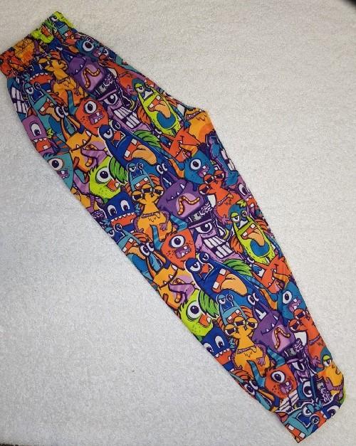Monster Parade Kids Printed Full Length Joggers