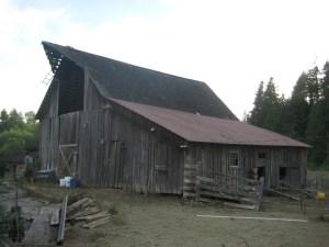 Heritage barn from the NE