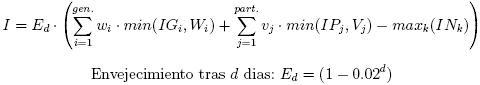 Interestingness Formula