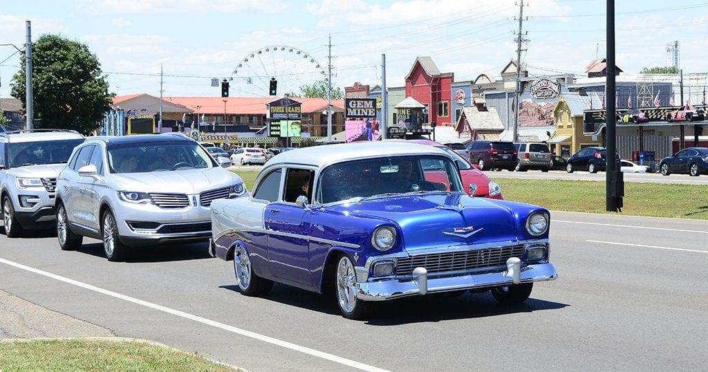 Rod Run event in Pigeon Forge