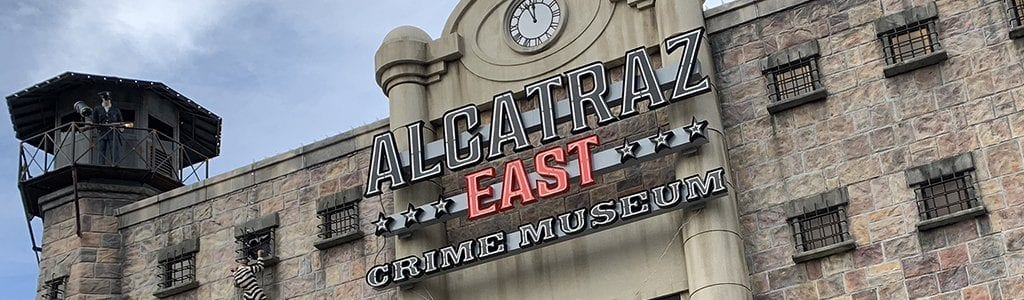 Alcatraz East in Pigeon Forge, TN (photo by Alaina O'Neal/TheSmokies.com)