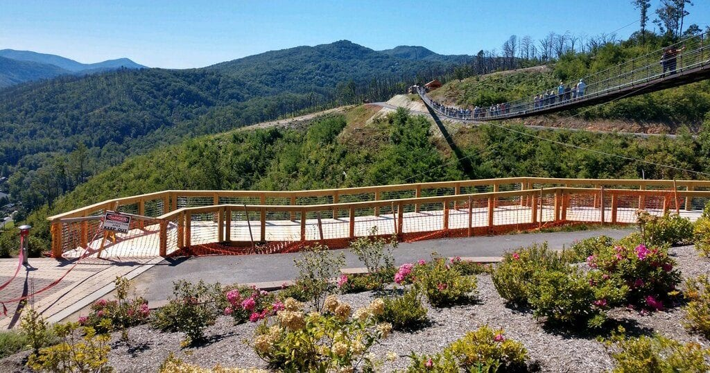 The new SkyTrail is expected to open soon, in Spring of 2021 (photo submitted by Greg and Laura Akens)