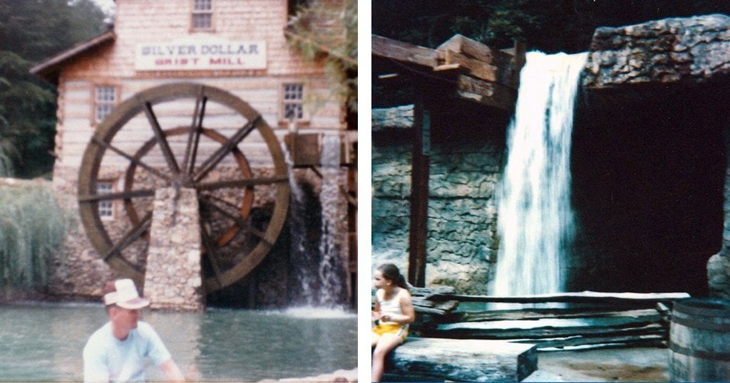 While a number of things have changed since the days of Silver Dollar City, many elements from the original park remain - such as the Grist Mill (photo contributed by Patricia Reaves)