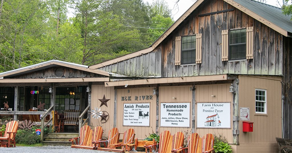 Shops within the Gatlinburg Arts and Crafts Community