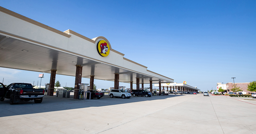 Buc-ees fuel stations