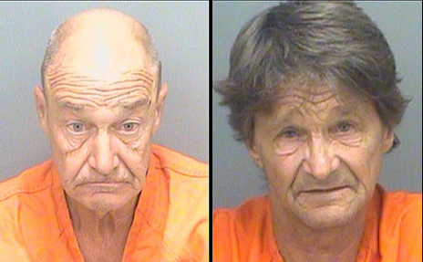 Naked Old Guys Arrested For Public Tryst