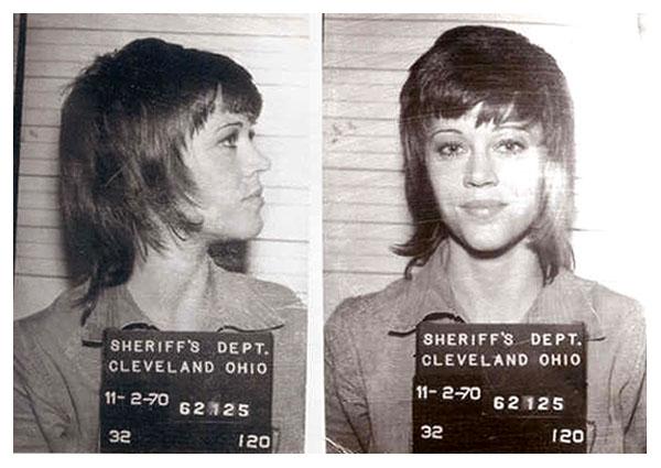 Jane Fonda 11/70 MUG SHOT   The Smoking Gun