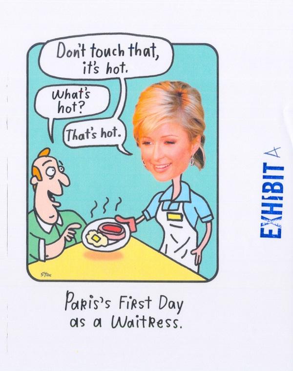 Paris Hilton Sues Over Hallmark Card The Smoking Gun