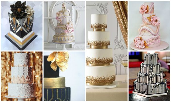 Wedding Cakes Inspired by Art Movements