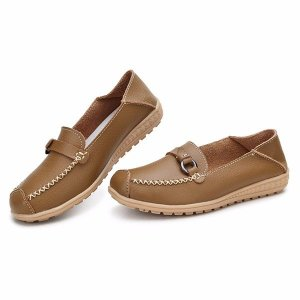Round Toe Flat Loafers Online