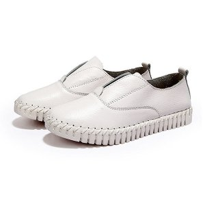 Leather Flat Loafers Online