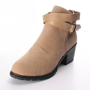 Women Square Heel Ankle Boot Online