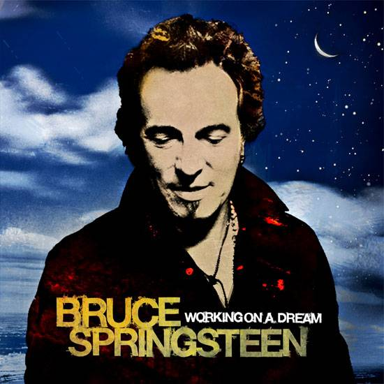 Bruce Springsteen Working On a Dream album cover image