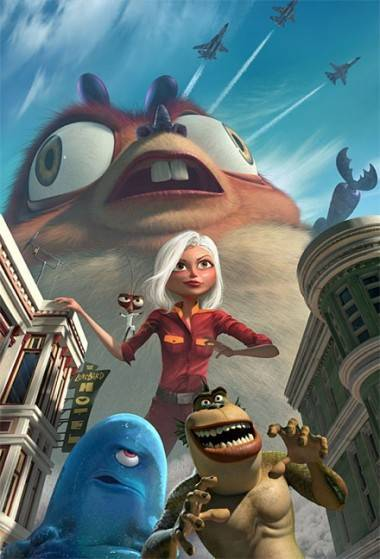 Monsters vs. Aliens movie image