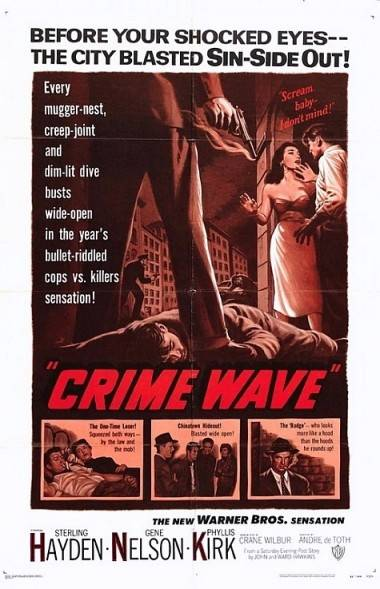 Crime Wave movie poster.