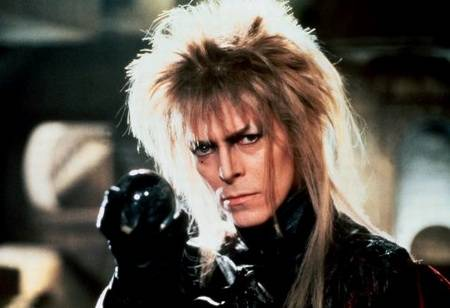 David Bowie photos Labyrinth