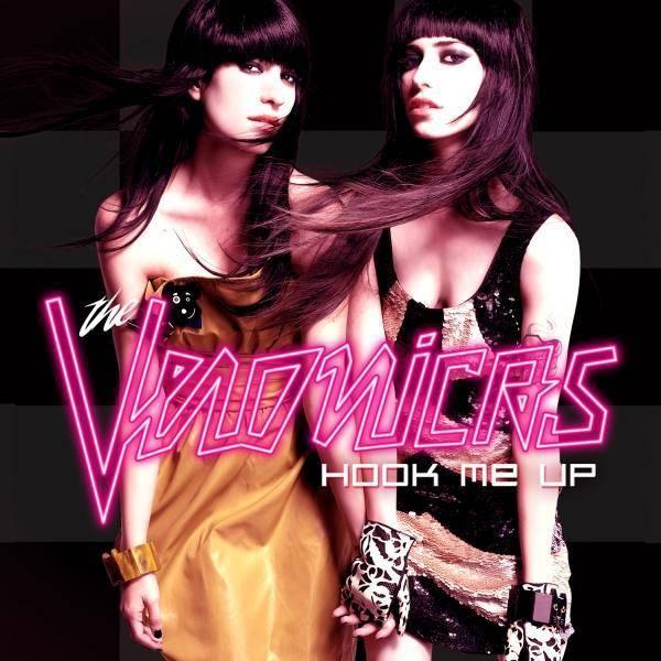 The Veronicas' album Hook Me Up album cover image