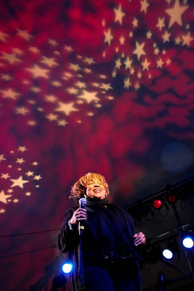 Mavis Staples at the Vancouver Folk Music Festival 2009 photo