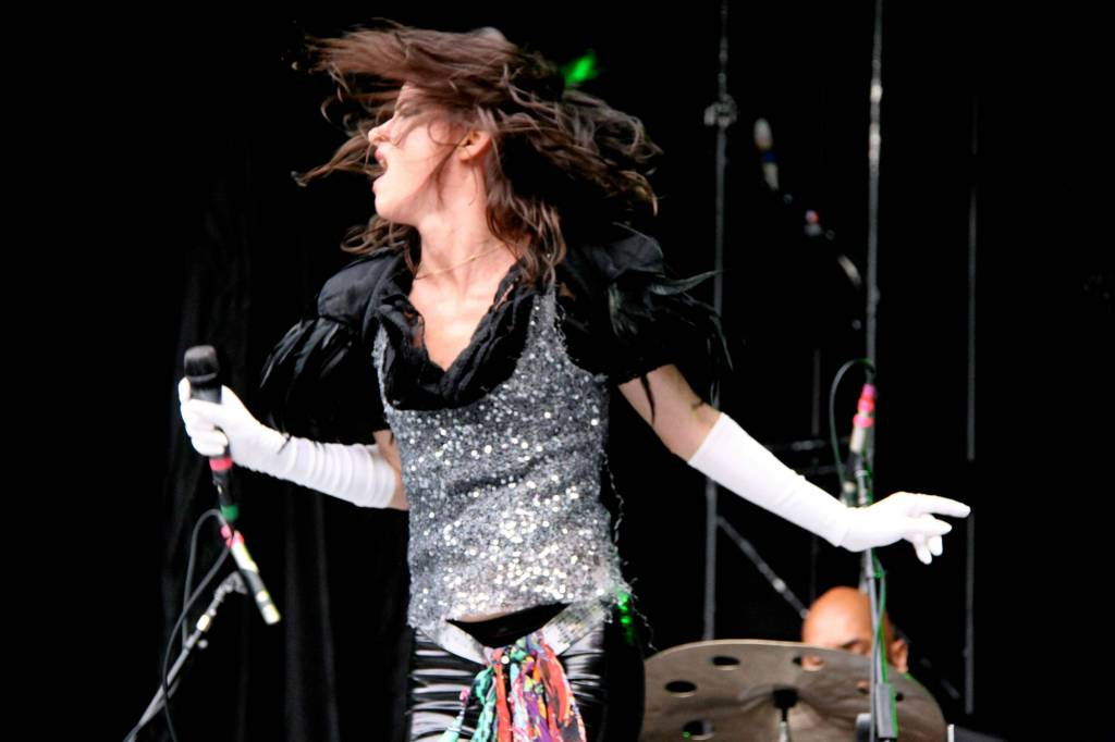 Juliette Lewis at Malkin Bowl, Vancouver