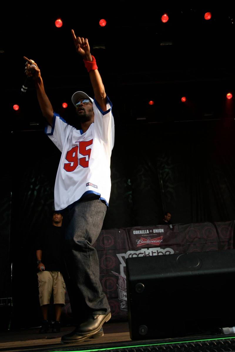 RZA at Rock the Bells at Deer Lake Park