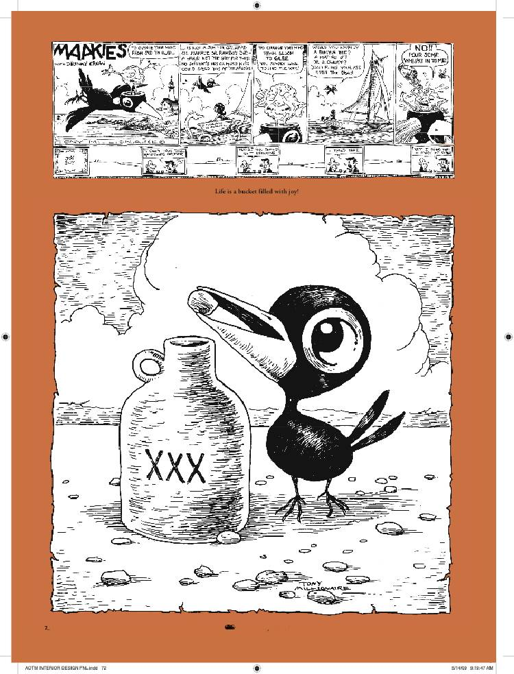 Drinky Crow from The Art of Tony Millionaire.