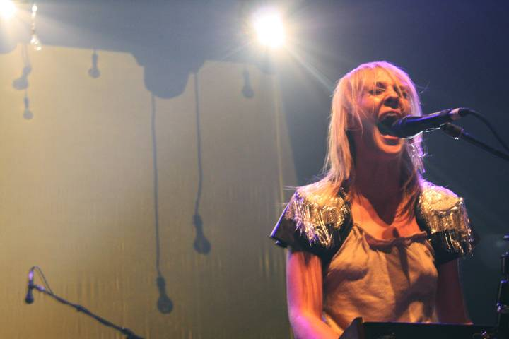 Emily Haines with Metric concert photo