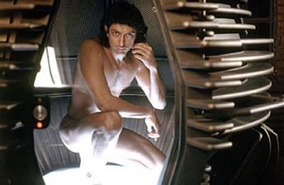 Jeff Goldblum in The Fly.