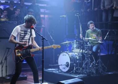 The Japandroids on Late Night with Jimmy Fallon, Jan 4 2010.