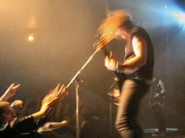 Anvil band Vancouver concert photo