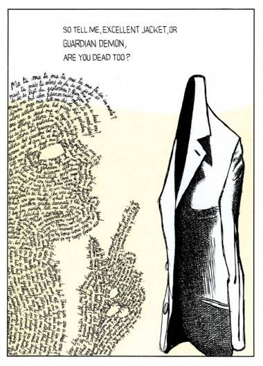 Dino Buzzati illustration from Poem Strip (1969).