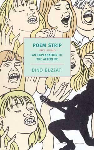 Dino Buzzati Poem Strip NYRB book cover