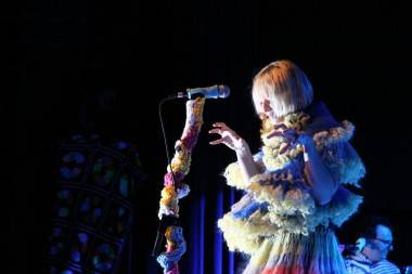 Sia performs at the Commodore Ballroom