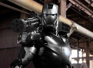War Machine in Iron Man 2 movie image