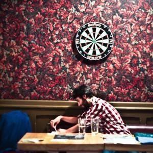 Leif Vollebekk at the Lo Pub, Winnipeg, July 20. Ailsa Dyson photo