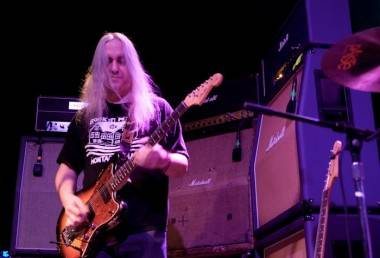 J Mascis with Dinosaur Jr photo