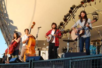 The Avett Brothers at the Vancouver Folk Music Festival, July 16 2010. Megan Chursinoff photo