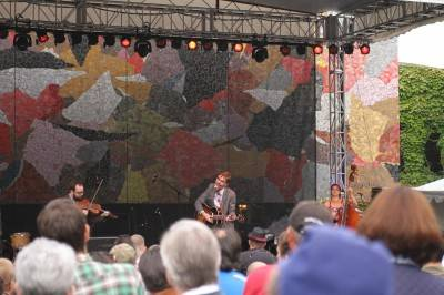 Justin Townes Earle at Bumbershoot, Seattle, Sept 4 2010. Robyn Hanson photo
