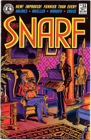 Snarf comic book cover image