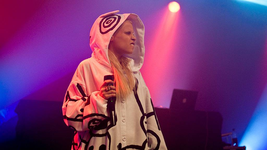 Die Antwoord at the Commodore Ballroom, Oct 12 2010. Ashley Tanasiychuk photo