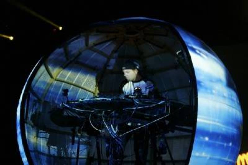 DJ Shadow at the Commodore, Oct 25 2010. John Pigeon photo