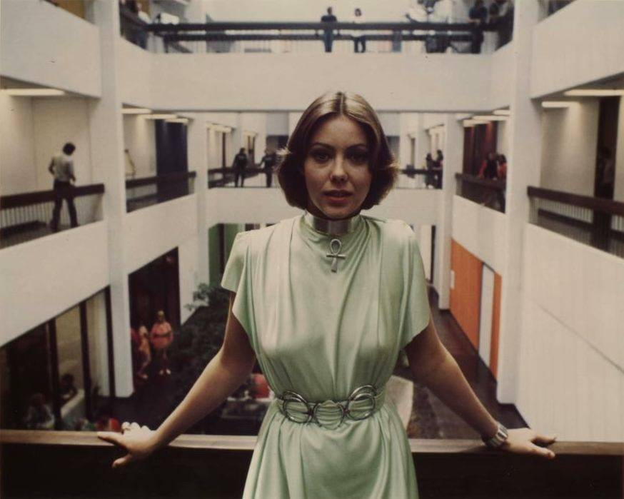 Jenny Agutter promo pic from Logan's Run.