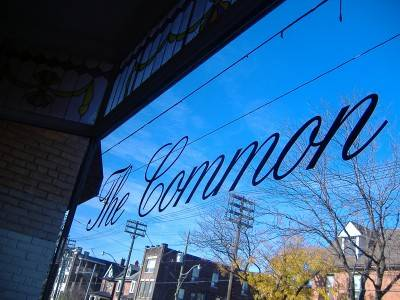 The Common coffee shop in Toronto.