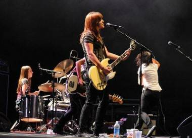 Minneapolis all-girl band Sick of Sarah