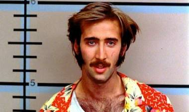Nicolas Cage in Raising Arizona