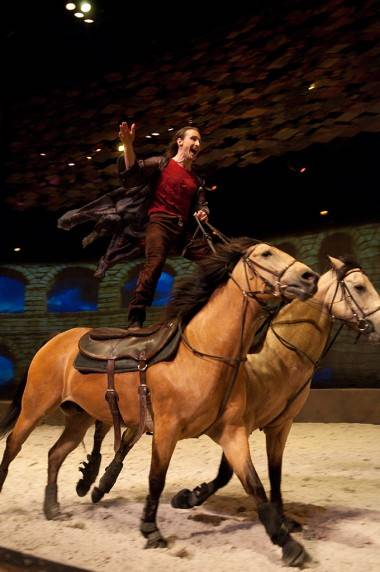 Cavalia media preview in Vancouver, March 21 2011. Ashley Tanasiychuk photo