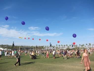 Coachella Music and Arts Festival April 16 2011. Photo by Krystle Sivorot).