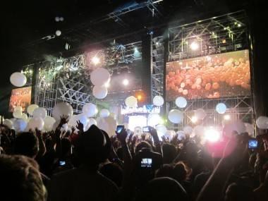 Arcade Fire at Coachella, April 16 2011. Krystle Sivorot photo
